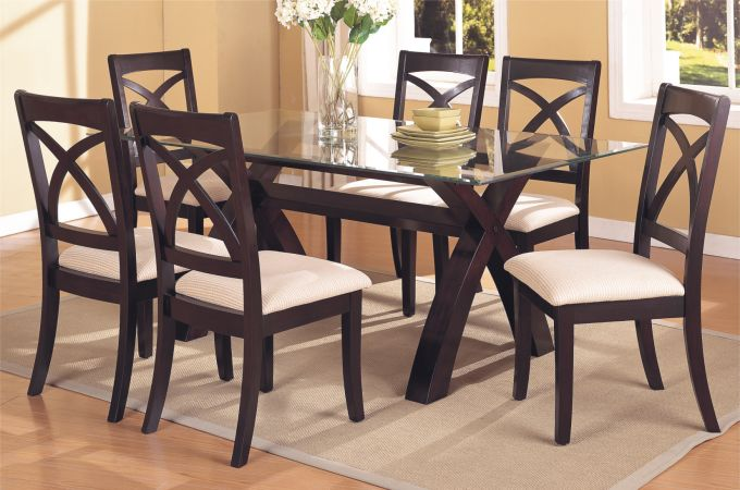 glass kitchen table sets round glass dining table with metal base 6 seater sheesham wood dining