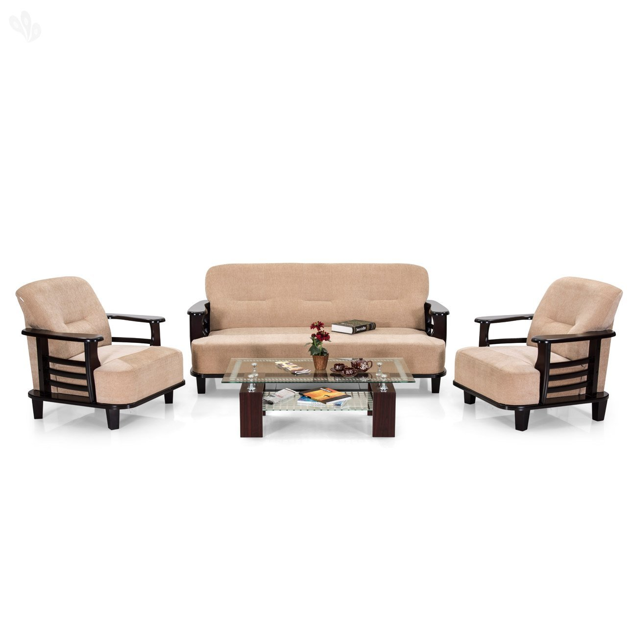 Exciting Chocolate Brown Living Room Sets